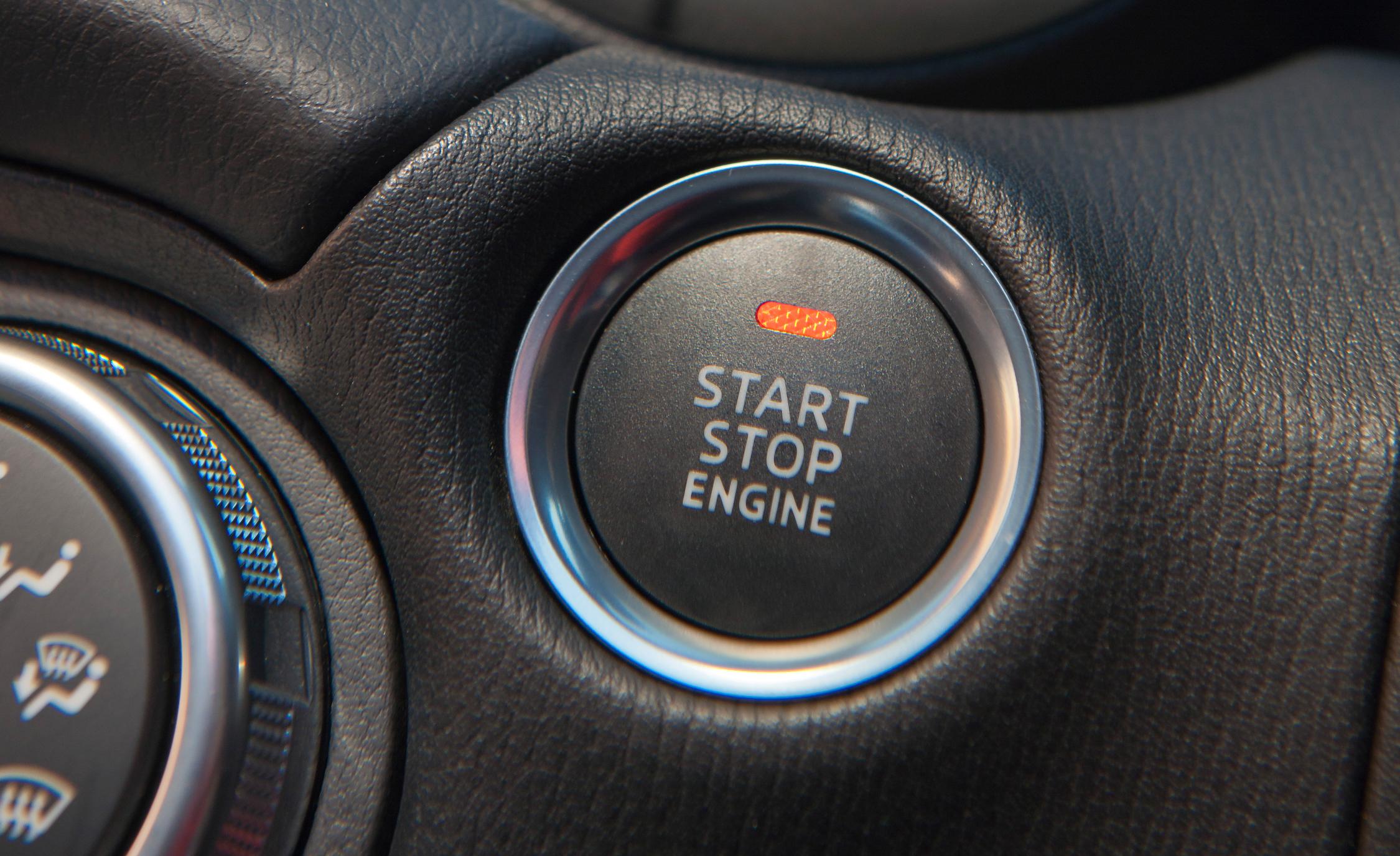 Start-Stop Engine Button 2016 Mazda MX-5 Miata