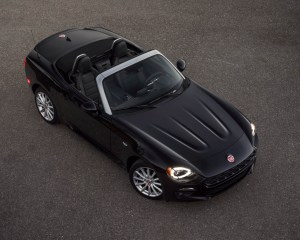 Top View 2017 Fiat 124 Spider