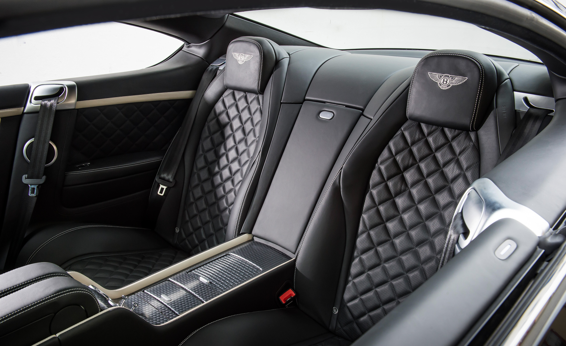 2016 Bentley Continental GT Speed Interior Rear Passenger Seats