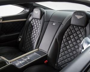 2016 Bentley Continental GT Speed Interior Rear Passenger Seats