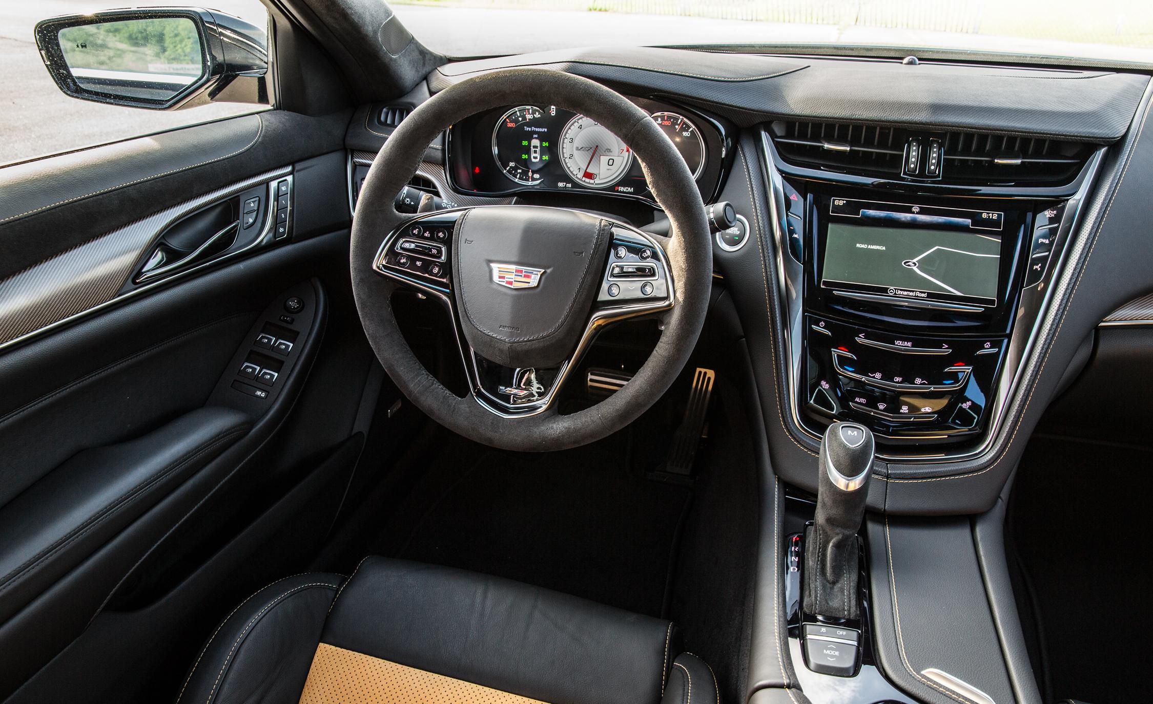 2016 Cadillac CTS-V Interior Cockpit