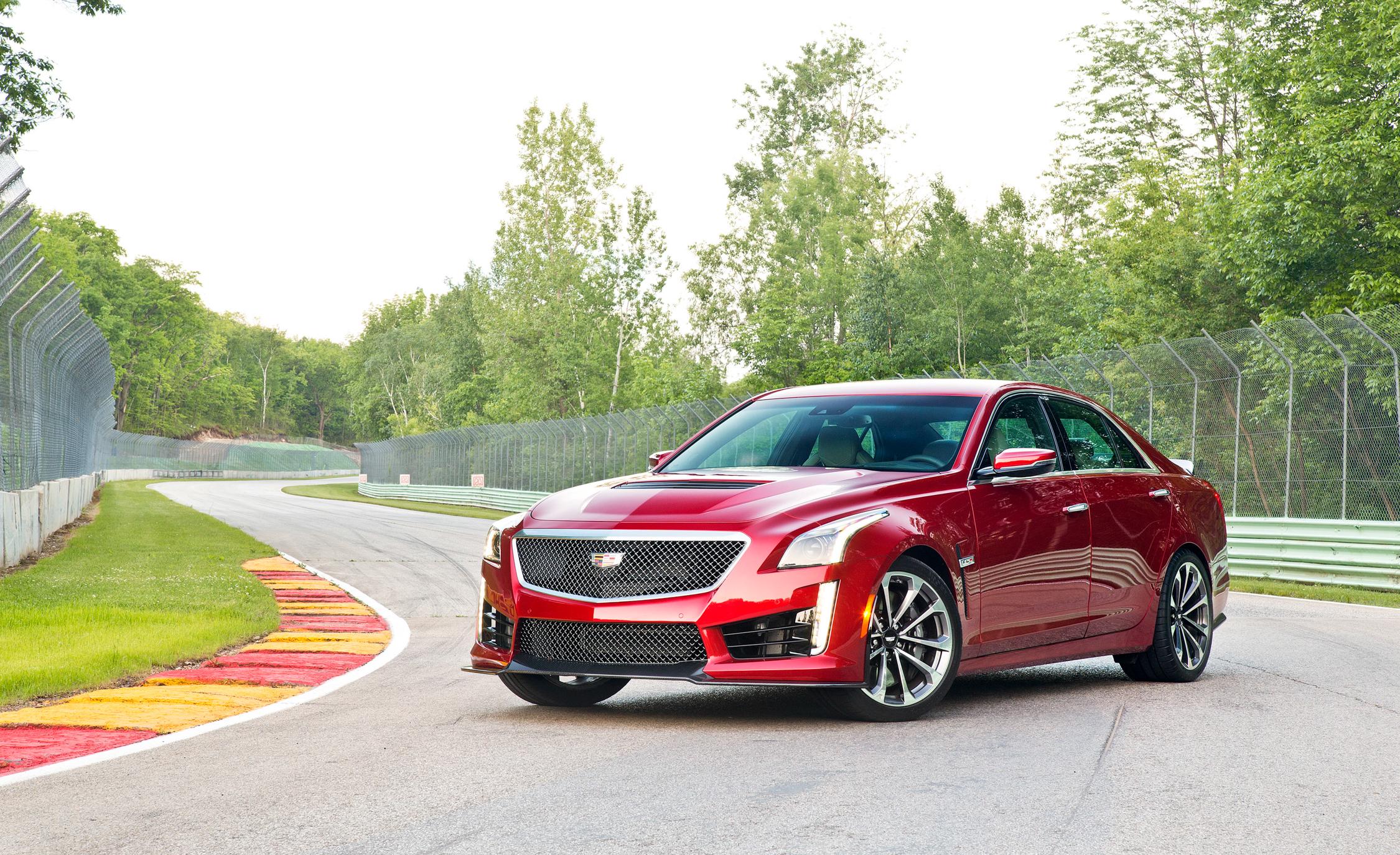 2016 Cadillac CTS-V Red Exterior