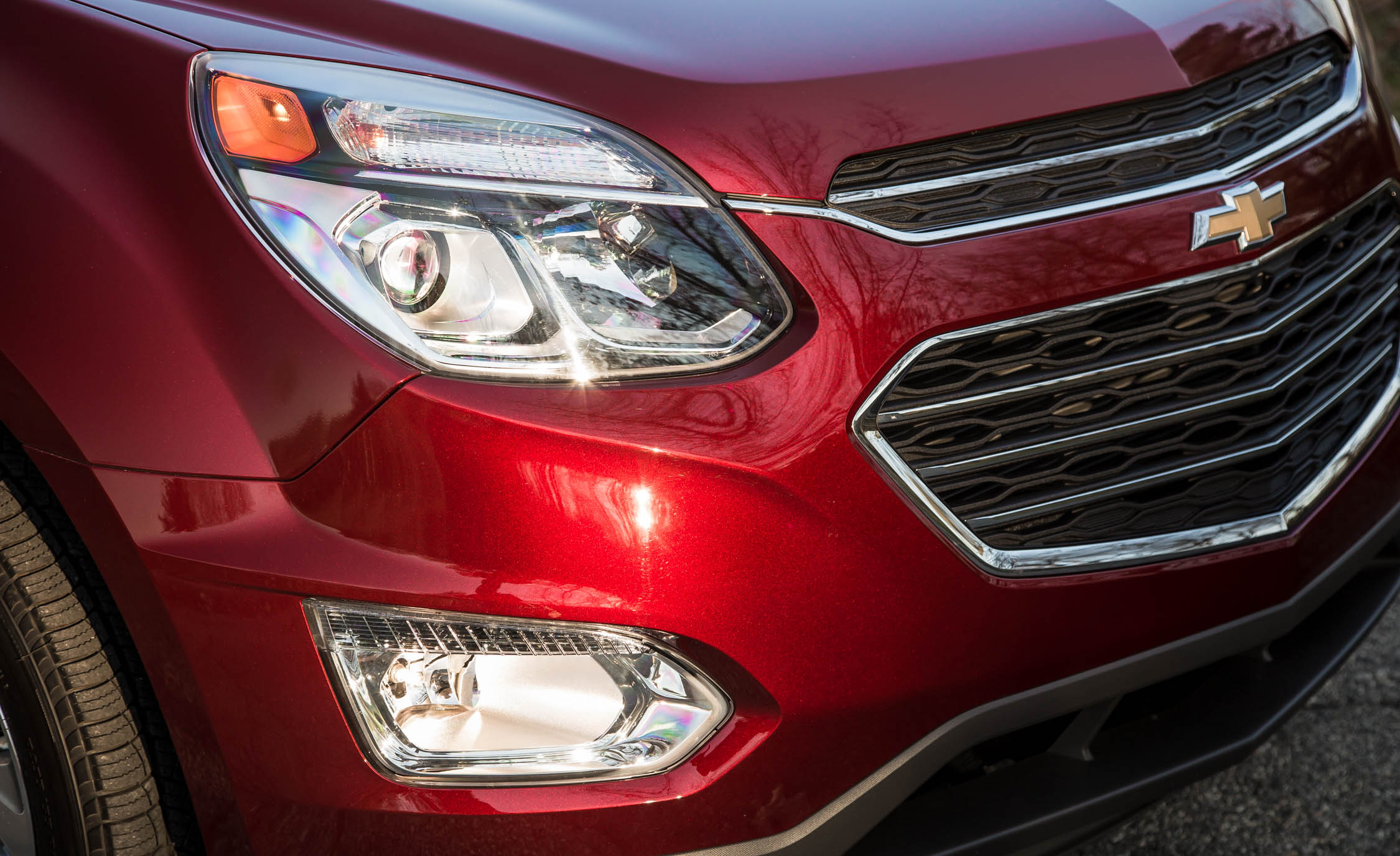 2016 Chevrolet Equinox LTZ Exterior Headlight