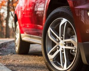 2016 Chevrolet Equinox LTZ Exterior Wheel Trim
