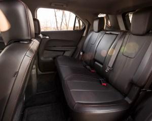 2016 Chevrolet Equinox LTZ Interior Rear Passenger Seats