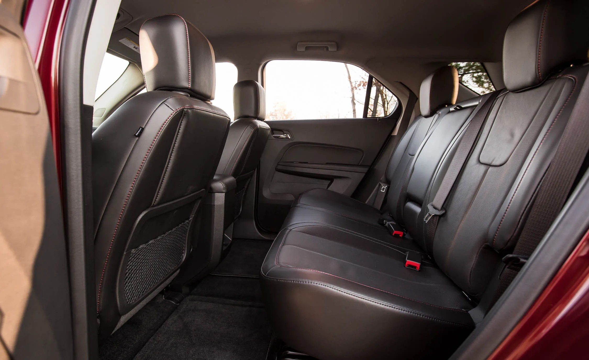 2016 Chevrolet Equinox LTZ Interior Rear Passenger Space