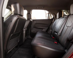 2016 Chevrolet Equinox LTZ Interior Rear Passenger Space