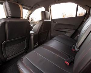2016 Chevrolet Equinox LTZ Interior Rear