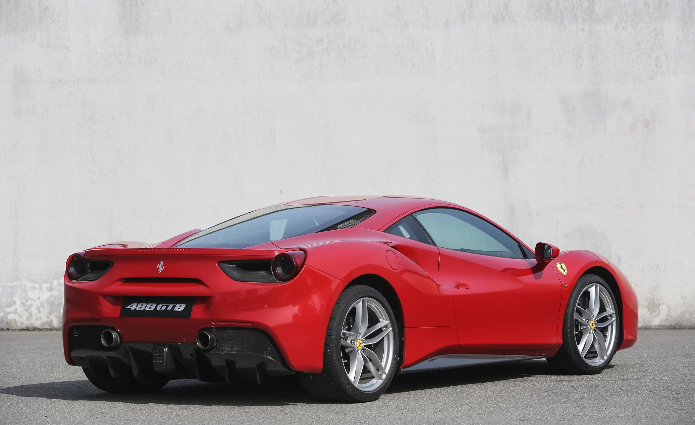 2016 Ferrari 488GTB Exterior Full Rear and Side