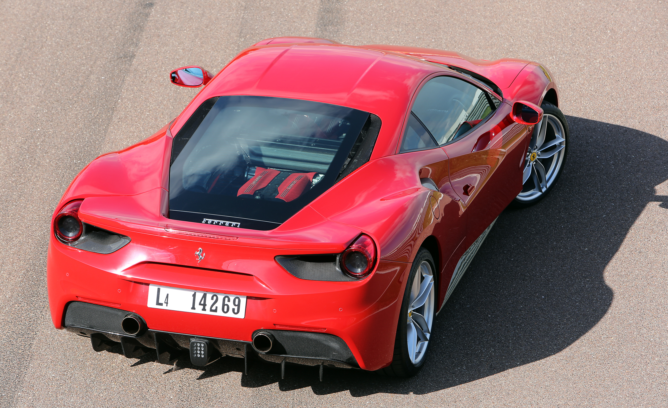 2016 Ferrari 488GTB Exterior Full Top and Rear