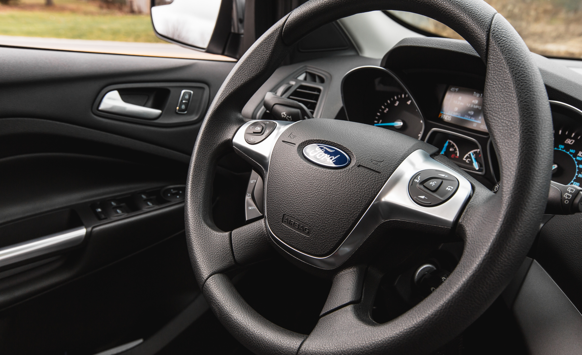 2016 Ford Escape Ecoboost SE Interior Steering