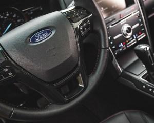 2016 Ford Explorer Sport Interior Steering