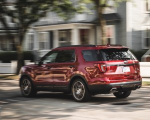 2016 Ford Explorer Sport Test Rear and Side View