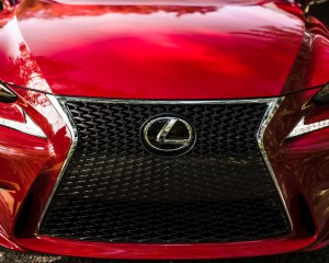 2016 Lexus IS200t F Sport Exterior Grille and Bumper