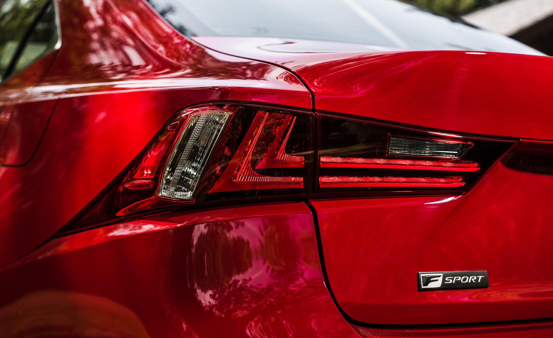2016 Lexus IS200t F Sport Exterior Taillight Left
