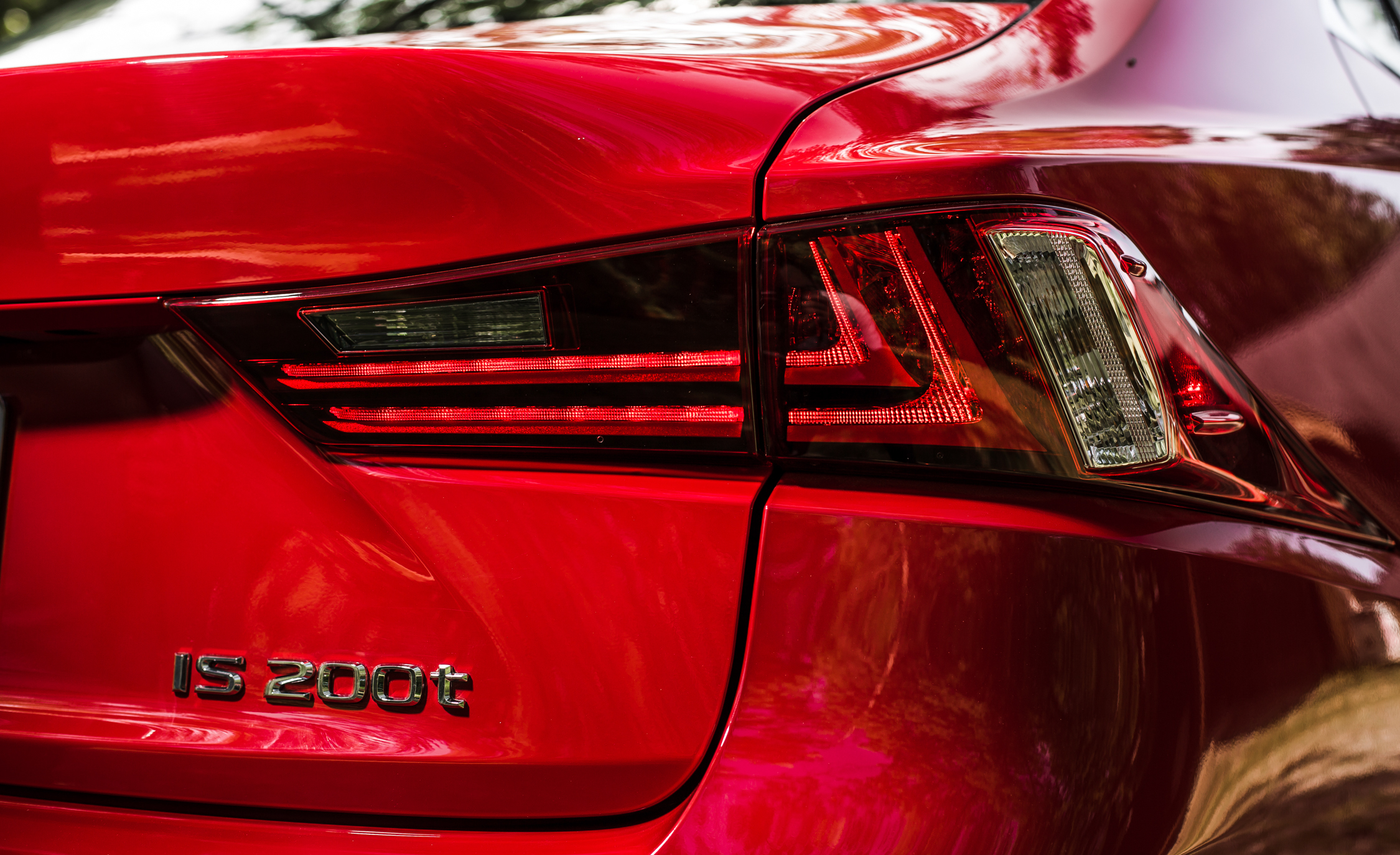 2016 Lexus IS200t F Sport Exterior Taillight Right