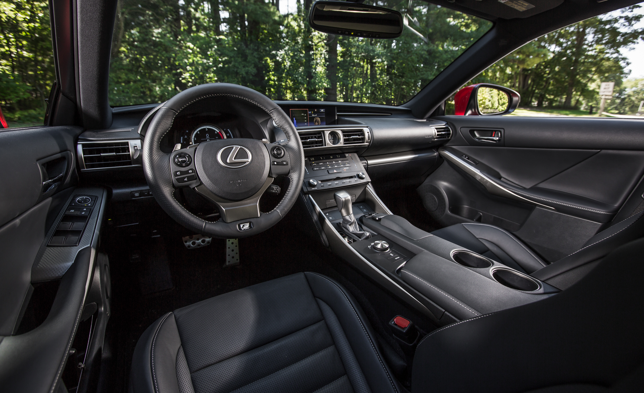 2016 Lexus IS200t F Sport Interior Cockpit