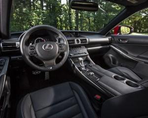 2016 Lexus IS200t F Sport Interior Cockpit