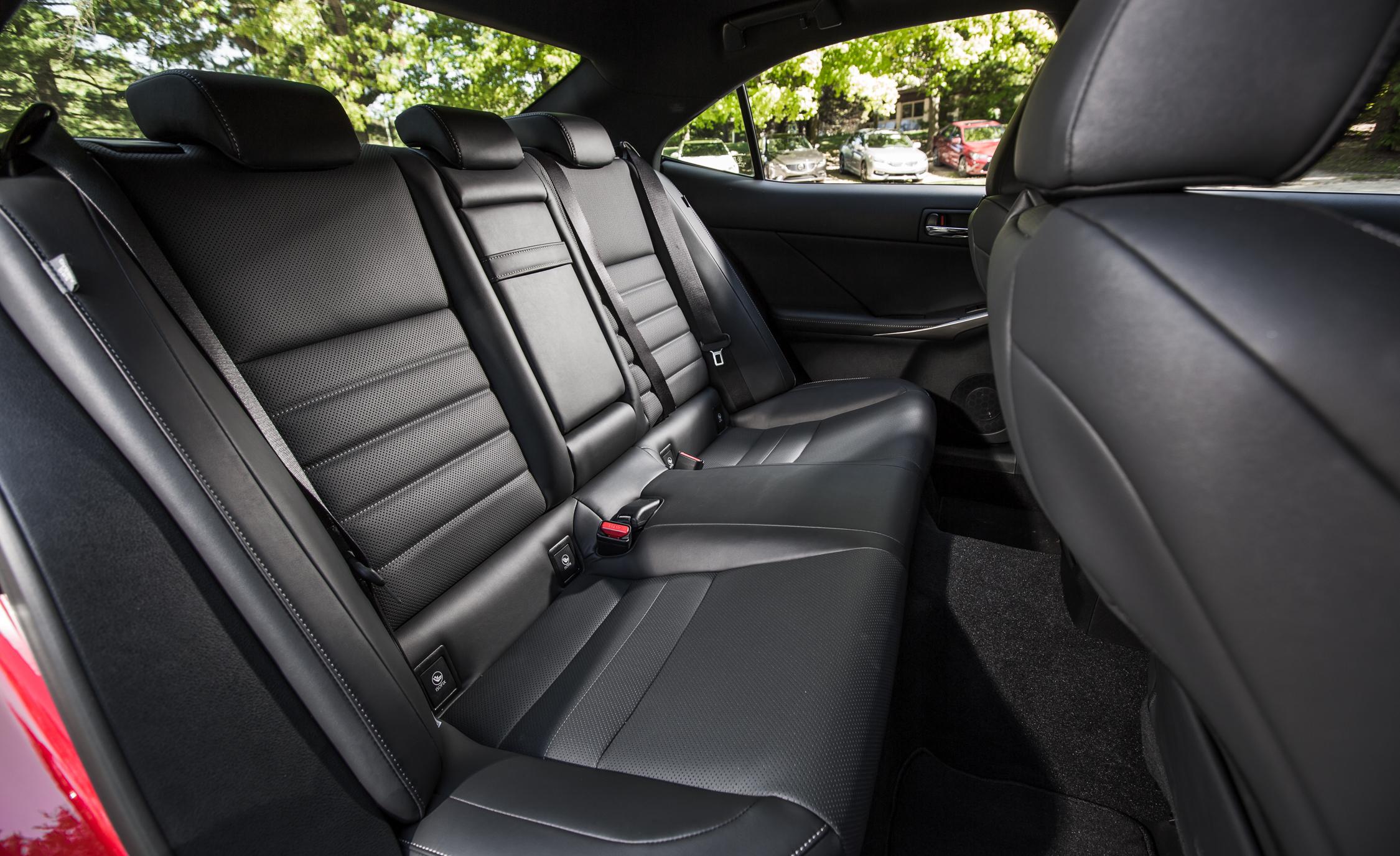 2016 Lexus IS200t F Sport Interior Seats Rear