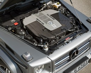 2016 Mercedes-Benz G65 AMG Twin-Turbocharged 6.0-Liter V-12 Engine