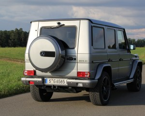 2016 Mercedes-Benz G65 AMG Exterior Rear Side