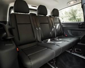 2016 Mercedes-Benz Metris Interior 3rd Row Seats