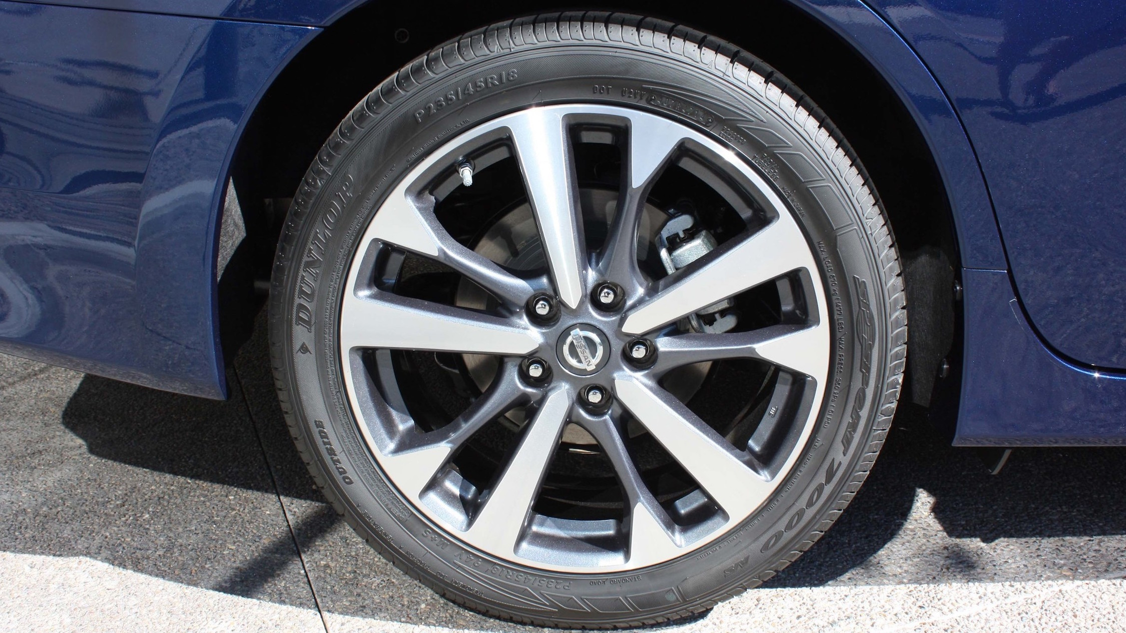 2016 Nissan Altima Exterior Wheel