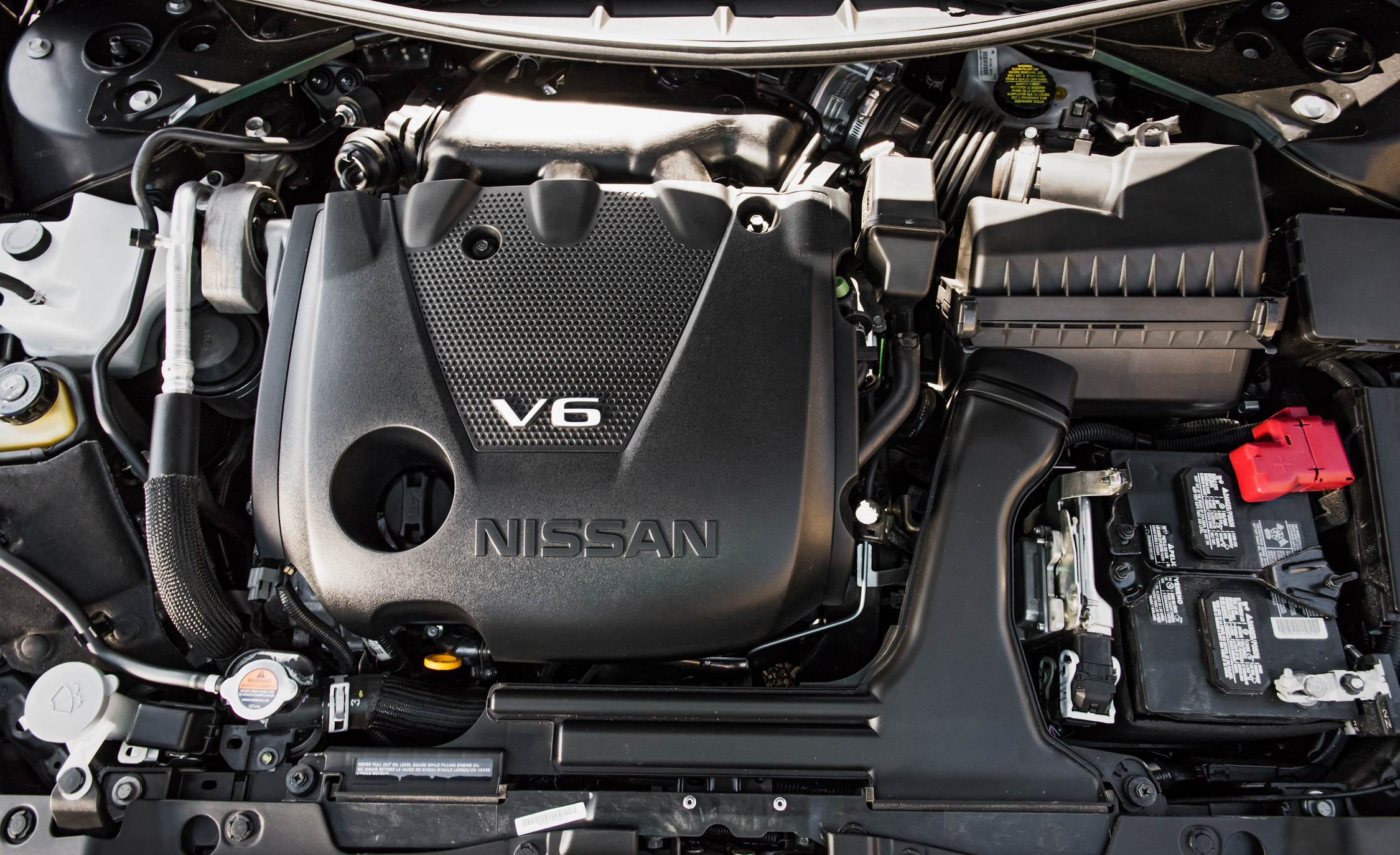 2016 Nissan Maxima SR 3.5-Liter V-6 Engine