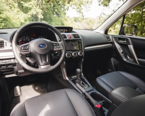 2016 Subaru Forester 2.0XT Touring Interior Front
