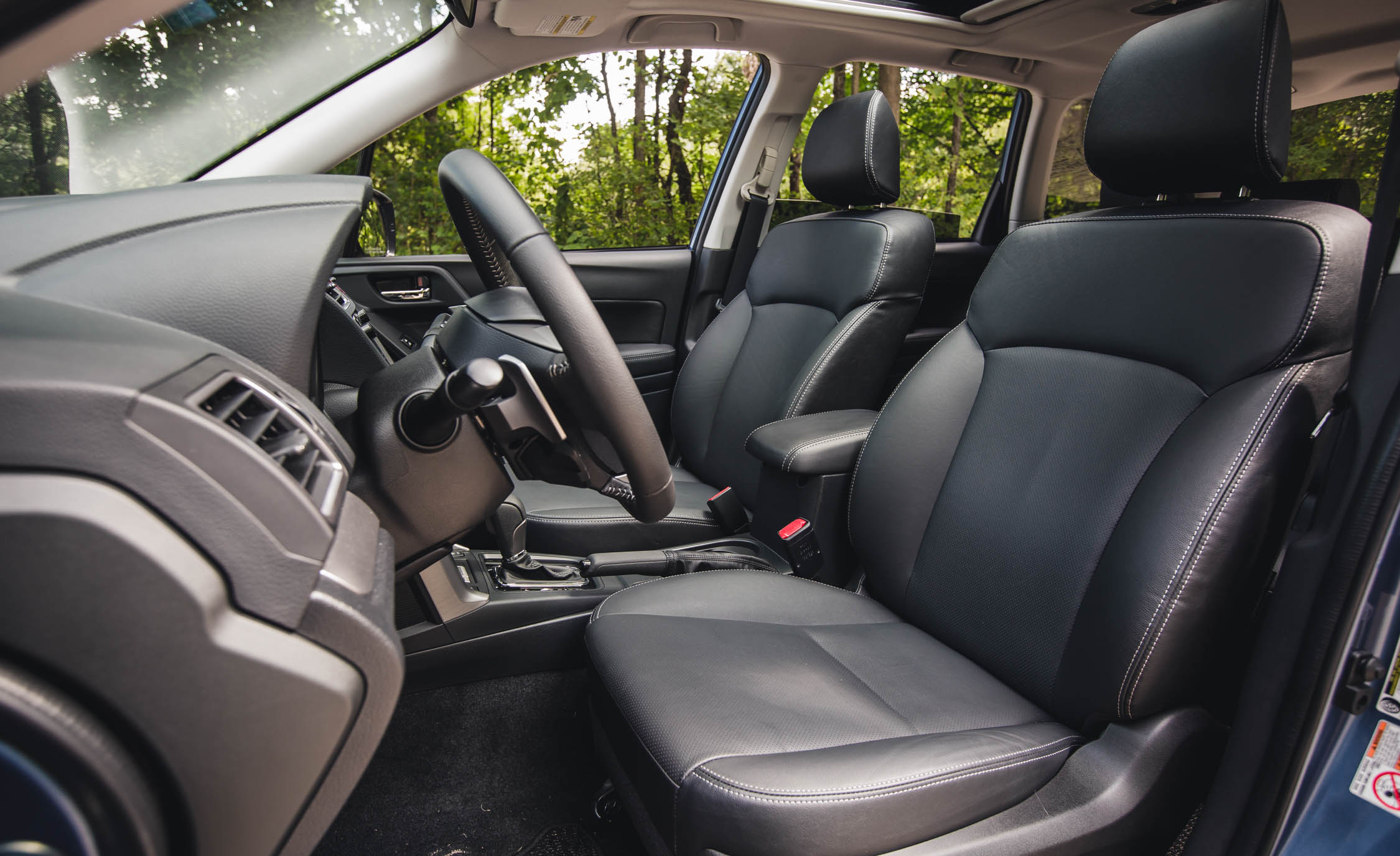 2016 Subaru Forester 2.0XT Touring Interior Seats Cockpit
