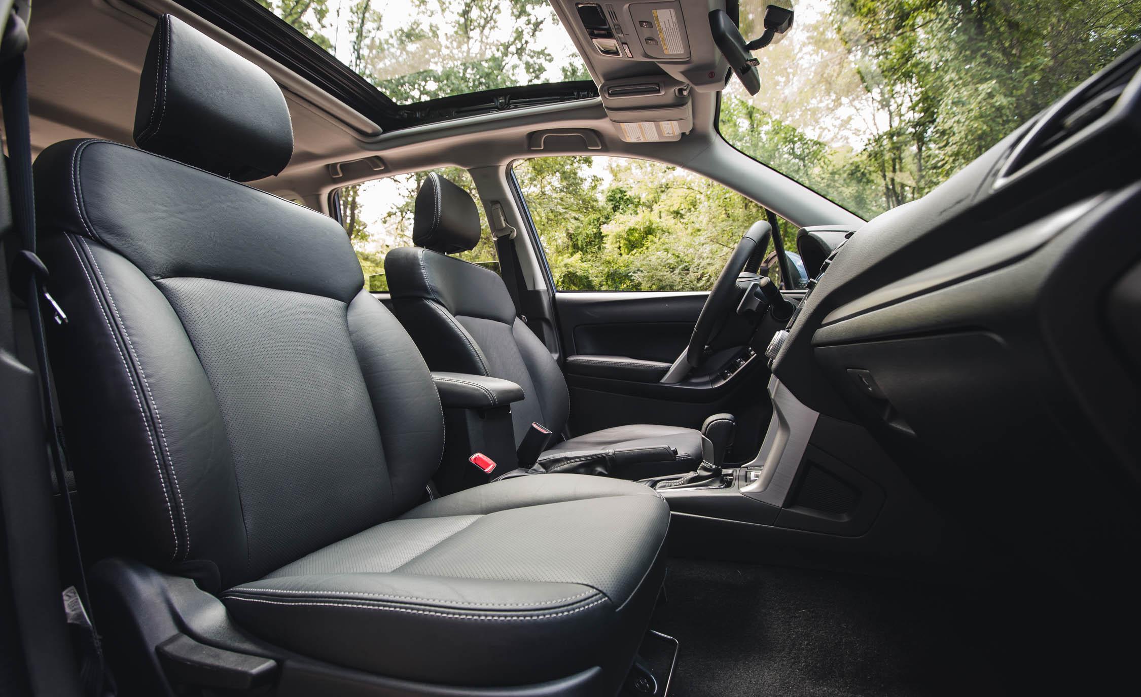 2016 Subaru Forester 2.0XT Touring Interior Seats Front
