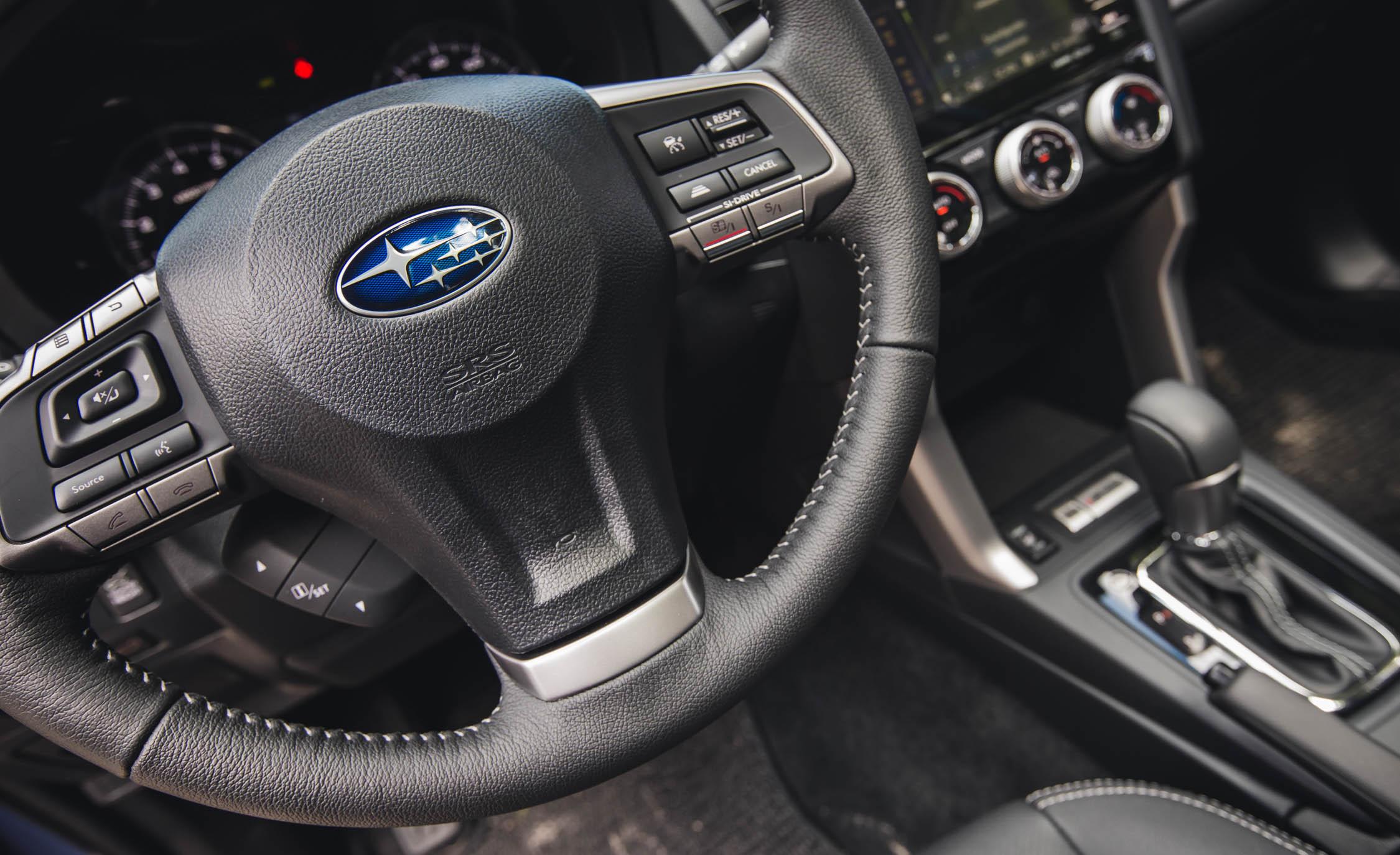 2016 Subaru Forester 2.0XT Touring Interior Steering
