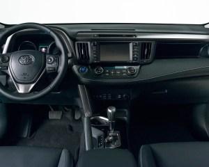 2016 Toyota RAV4 Hybrid Interior Dashboard