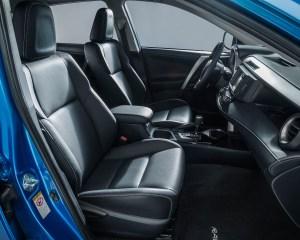 2016 Toyota RAV4 Hybrid Interior Front Seats