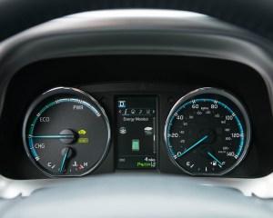 2016 Toyota RAV4 Hybrid Interior Speedometer