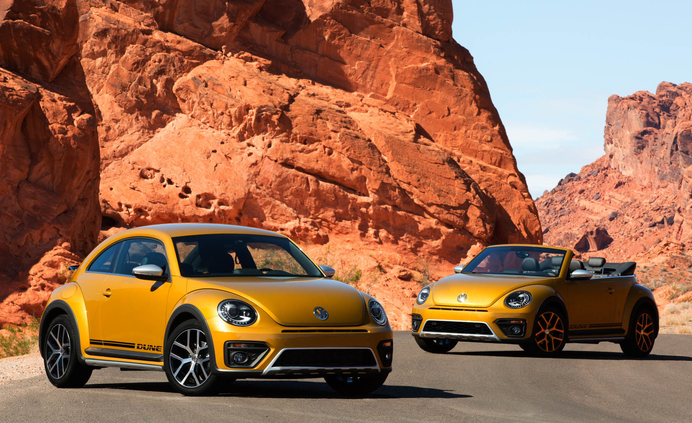 2016 Volkswagen Beetle Dune Coupe and Convertible