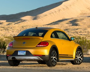 2016 Volkswagen Beetle Dune Exterior Full Rear and Side