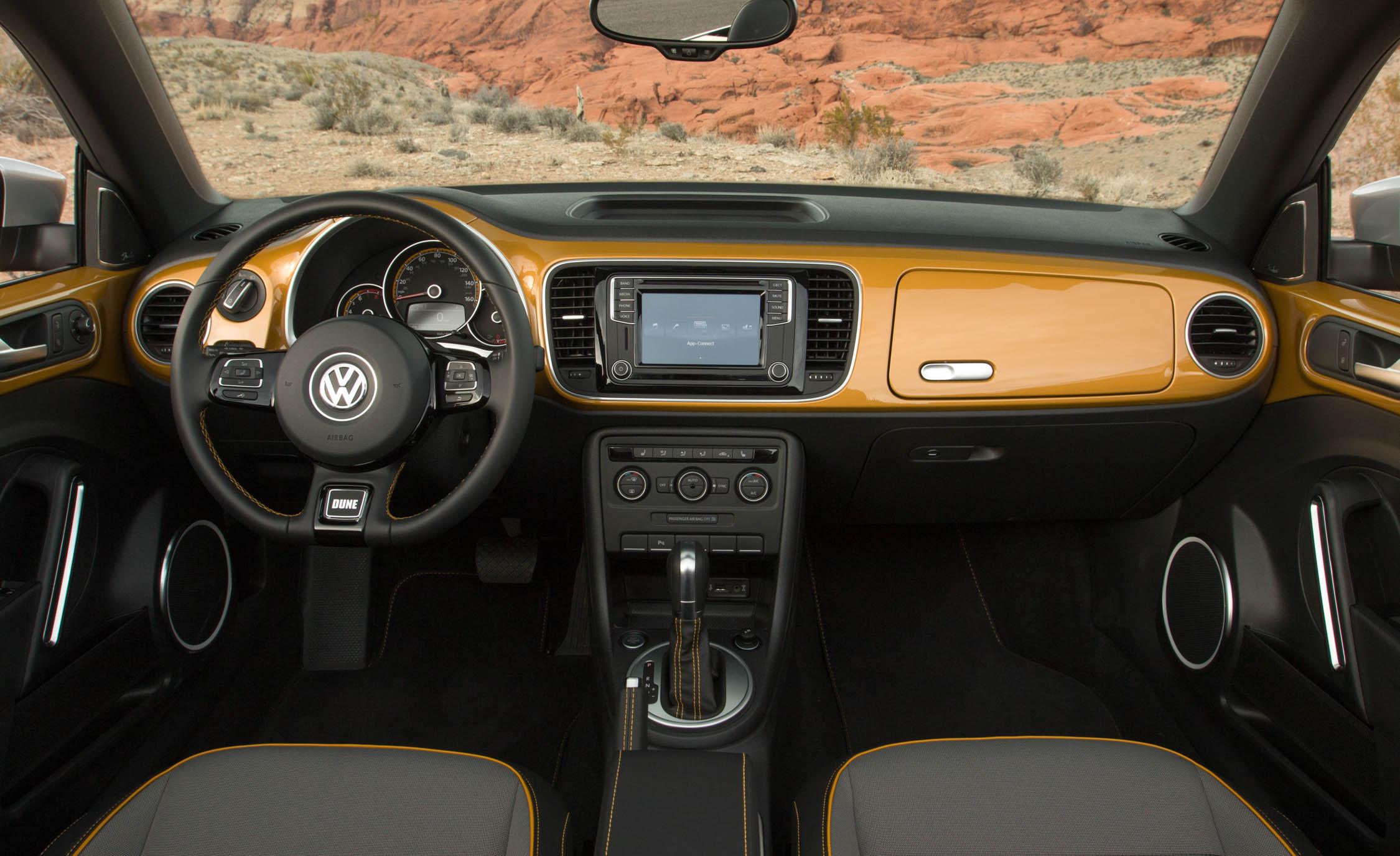 2016 Volkswagen Beetle Dune Interior Dashboard