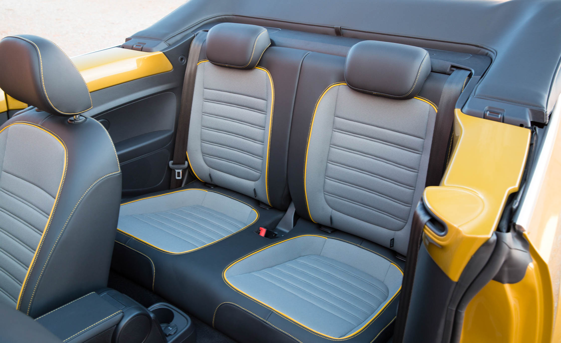 2016 Volkswagen Beetle Dune Interior Rear Seats