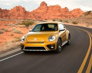 2016 Volkswagen Beetle Dune Test Front View
