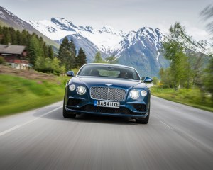 Front View Bentley Continental GT V8 Coupe 2016
