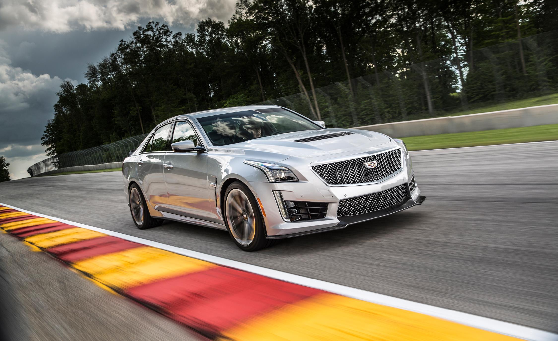 New 2016 Cadillac CTS-V Silver