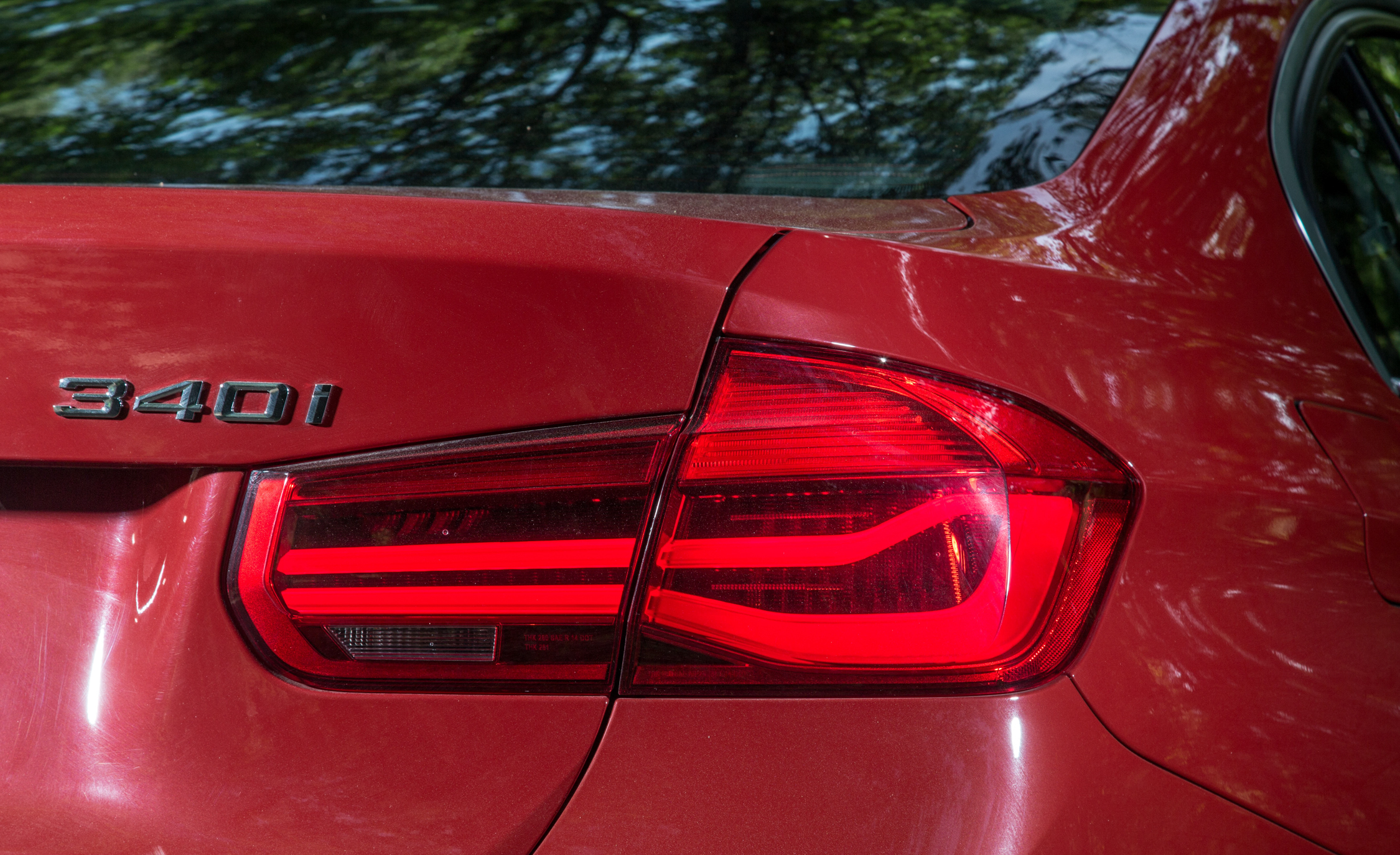 2016 BMW 340i Exterior Taillight