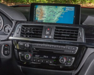 2016 BMW 340i Interior Head Unit