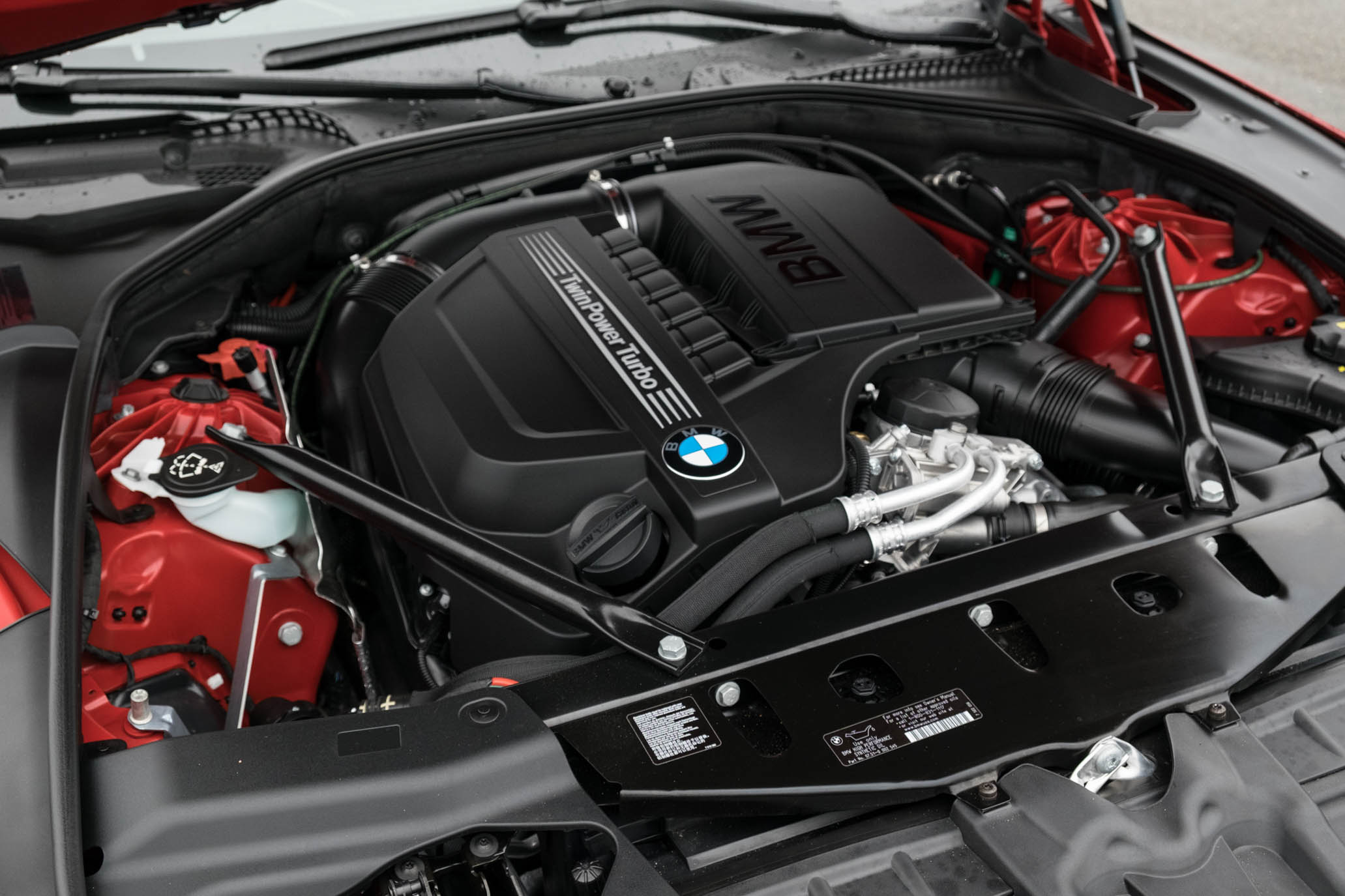 2016 BMW 640i Convertible Turbocharged 3.0-Liter Inline-6 Engine