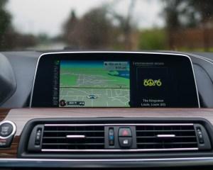 2016 BMW 640i Convertible Interior Head Unit Screen