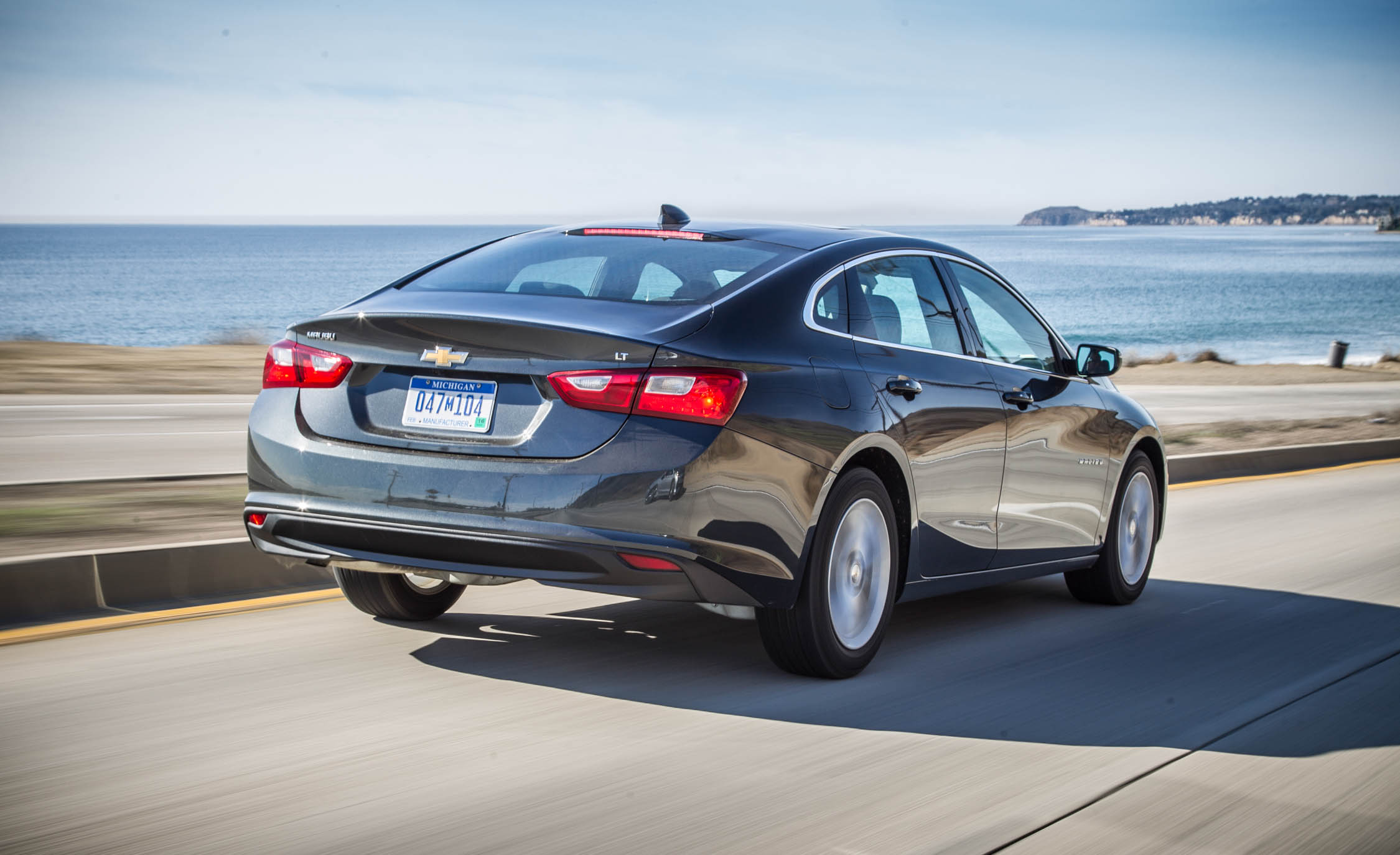2016 Chevrolet Malibu LT Test Rear View