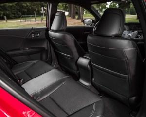 2016 Honda Accord Sport Interior Rear