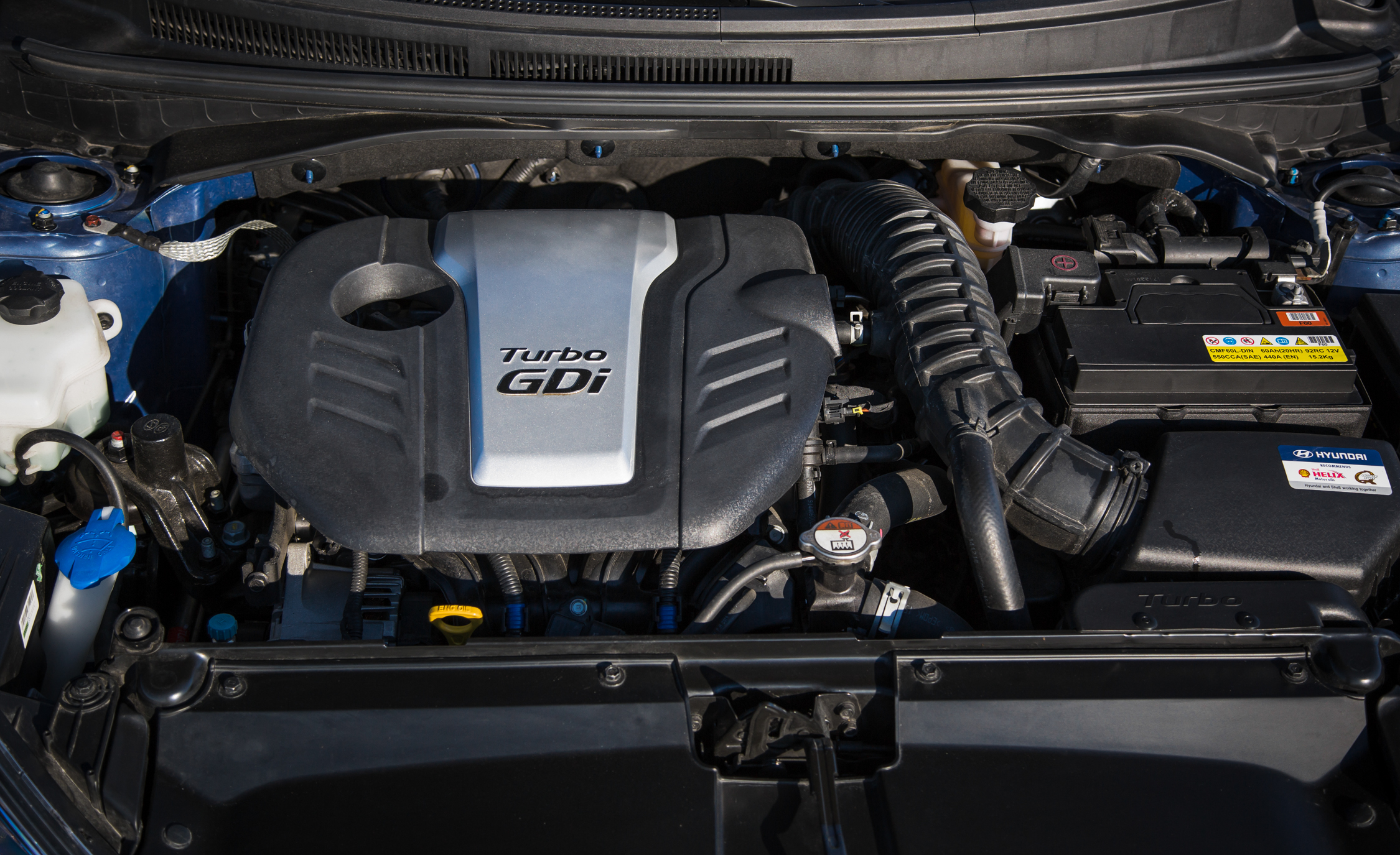 2016 Hyundai Veloster Turbo Rally Edition Engine