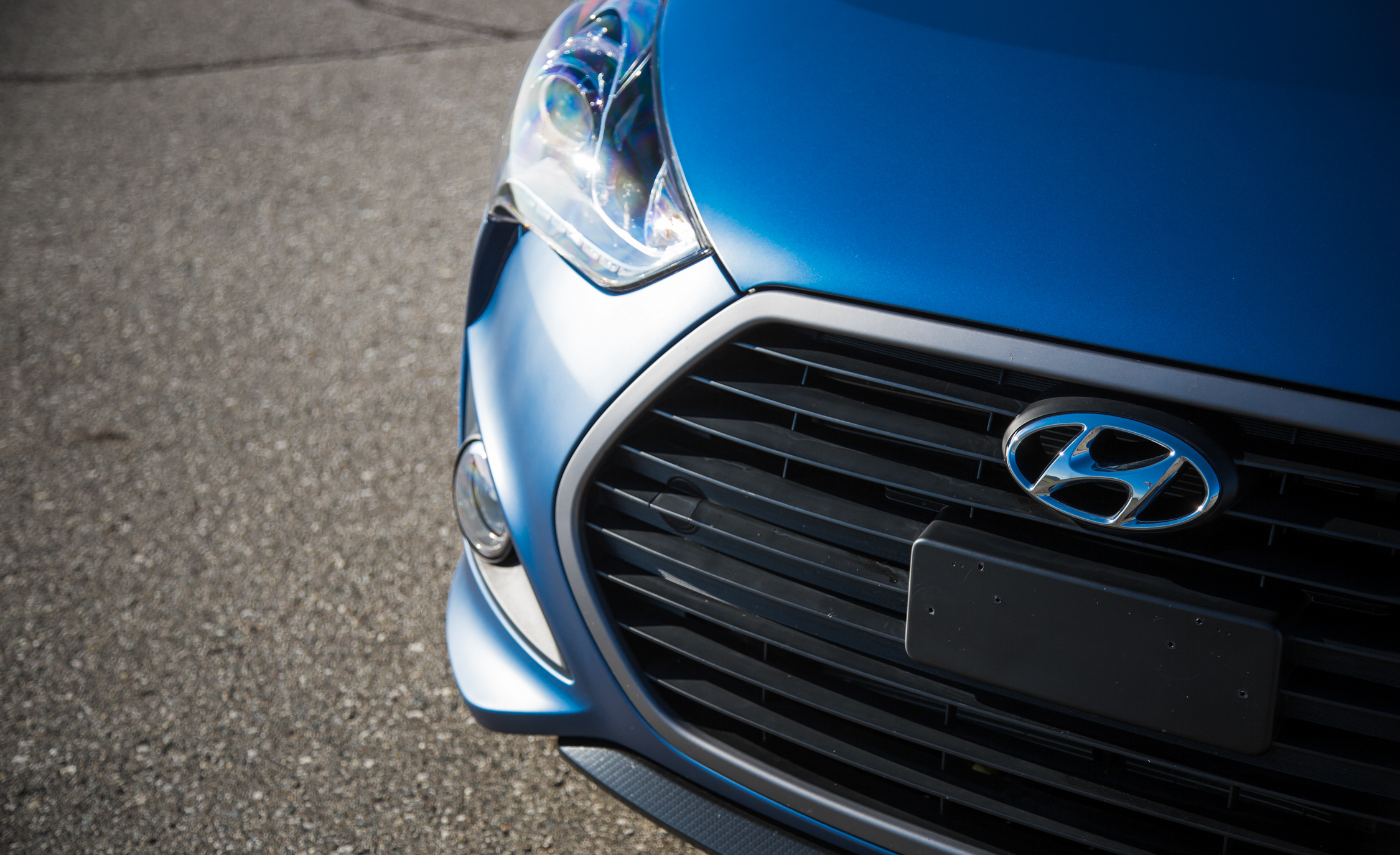 2016 Hyundai Veloster Turbo Rally Edition Exterior Badge Front